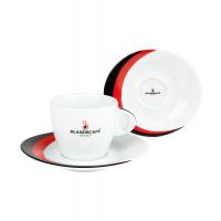 Сервиз Blasercafe Rosso Nero для капучино 12 предметов