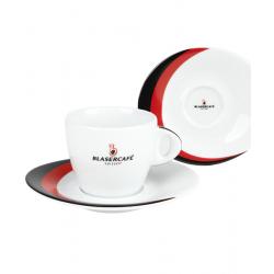 Сервиз Blasercafe Rosso Nero для капучино XL 12 предметов