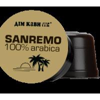 Кофе в капсулах (Дом Кофе) «Sanremo» Capsules 10 шт.