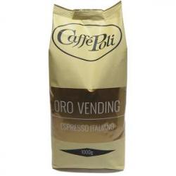 Кофе в зёрнах Caffe Poli Oro Vending 1кг.