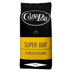 Кофе в зёрнах Caffe Poli Super Bar 1кг.