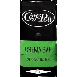 Кофе в зёрнах Caffe Poli Crema Bar 1кг.