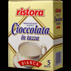 Шоколад белый Ristora упаковка 5*23 г.